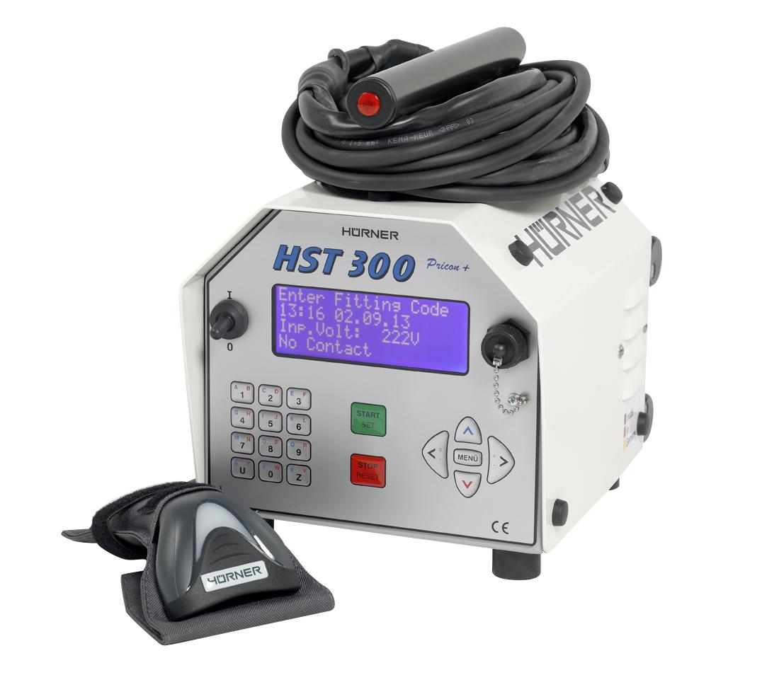 Muffenschweißgerät HST 300 Pricon +