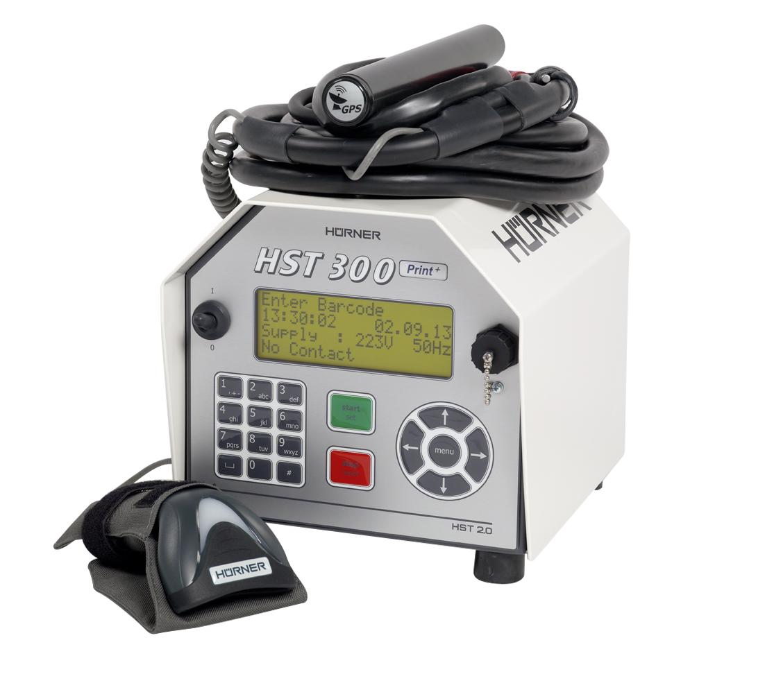 Muffenschweißgerät HST 300 Print+ GPS