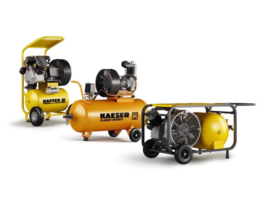 Kolbenkompressor Kaeser